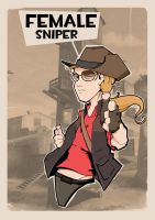 Female Sniper by pan10