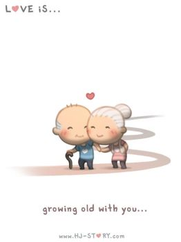 121. Love is... Growing Old Together by hjstory