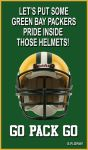GO PACK GO SIGN !!! by carl-88