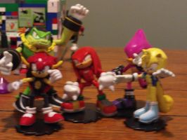 Team Chaotix Operation Missing Bee by DominicSega123