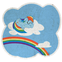 Storybook RainbowDash by thedeseasedcow
