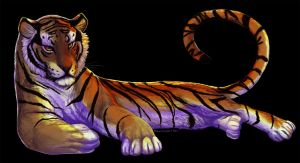 En Tiger by tigon