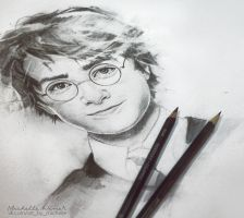 Harry Potter - sketh by Michelle-Winer