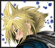Cloud Strife: Digital by AthenrilTheThief