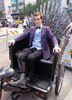 Not a king...a Doctor - SDCC 2013 by CptTroyHandsome