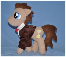 Commission - MLP - Dr. Whooves 3 by mihoyonagi