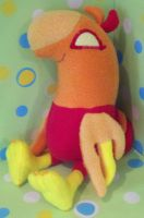 MLP Baby Phoenix Plushie by SowCrazy