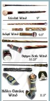 Hand Carved Wands by McGovernArts
