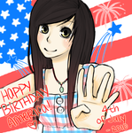Happy 4th of July America 2010 by CreativeClara