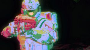 Halo 4 Orange and Green VII by lizking10152011