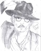 Johnny Depp by Kerra-D