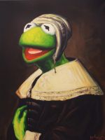Portrait Of A Young Frog by HillaryWhiteRabbit
