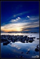 Sunset in Vung Tau by oivayha