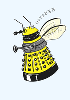 Dalek Bee by kartos