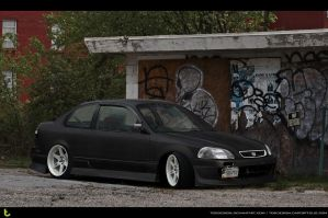 Honda Civic sedan by tebidesign