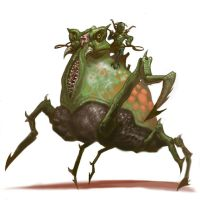 Insect Rider by DevaShard