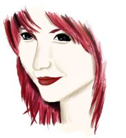 Hayley Williams! Colored by booklover1997