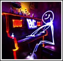 Piano Light by BMC-Photography