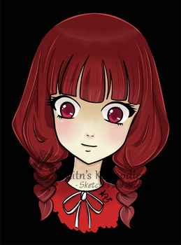 Head of Red - Headshot by Melody-Kitn