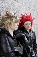 Axel and Roxas by Roxii95