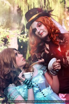 Come with me, Alice by IrethMinllatur