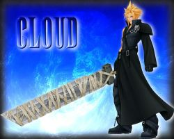 Kingdom Hearts 2 Cloud by freyaka