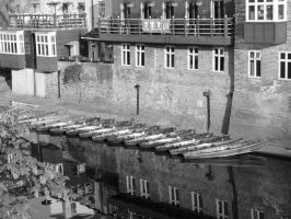 Boats in Black and White by alanhay