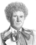 6th Doctor by ThePeculiarMissE