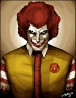 Mr. McDonald by ginoroberto