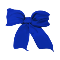 A Blue Bow by WDWParksGal-Stock
