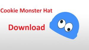 Cookie Monster Hat DOWNLOAD by RiSama