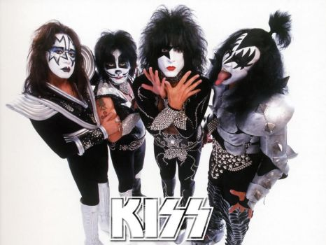 my favorite band KISS by leonrock84