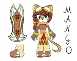 Mango the mongolian Gerbil Riders Outfit Reference by RubintheHorse
