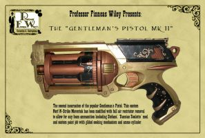 The Gentleman's Pistol MK II by davincisghost