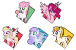 Got Bored - My Little Pony OC Icons by Kevfin
