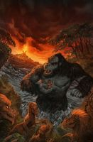 Kong of Skull Island #3 by NickRoblesArt