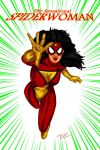 Sensational SpiderWoman by Rene-L