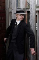 L.A. Noire Cole Phelps Cosplay: Stay in Cover! by LadyofRohan87