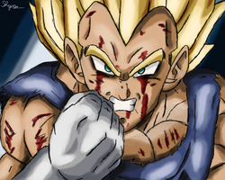 Super Saiyajin Vegeta by ShynTheTruth