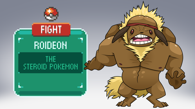The Other Eevee Evolutions: Roideon by ClubAdventure