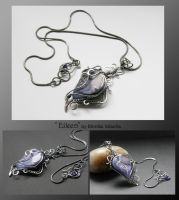 Eileen- wire wrapped pendant by mea00