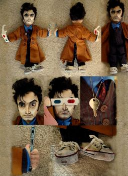 Tenth Doctor Doll by RohanElf