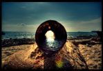 Look Throught The Pipe... by Emu05