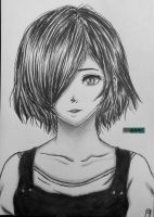 Touka Kirishima by SgkDrawing