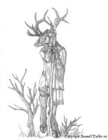Elk Anthro by RussellTuller
