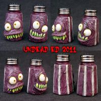 Tim Burton Style FREAKS shaker by Undead-Art