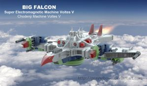 Voltes V Big Falcon by praywibowo