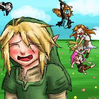 Everyone loves Link by xXChireXx