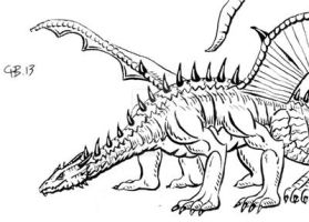Dracolisk by IanBaggley
