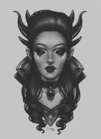 Demoness by dimary
